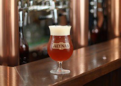 Baras alynas pilstomas alus