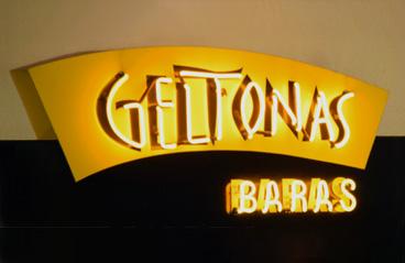 Geltonas baras Jonava (logotipas)