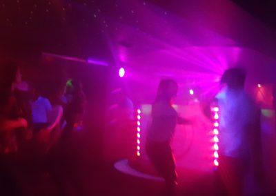 Muzika ir šviesos CoCo klube Druskininkuose