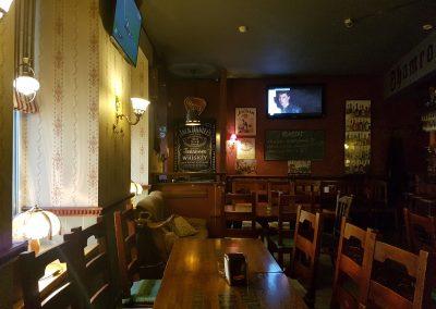 Shamrock Pub interjeras. Autorius: Emis