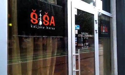 ŠIŠA Kaljano baras Kaunas