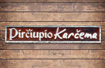 Pirčiupio karčemos logotipas