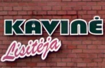Kavinė Lisitėja Panevėžys (logotipas)