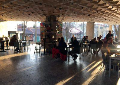 Kavinė Kultūra, Lauko staliukai, terasa
